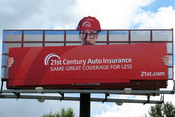 21st insurance advertisement