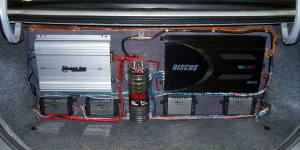 car audio installation