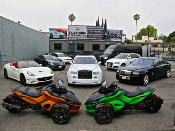 exotic car rentals services