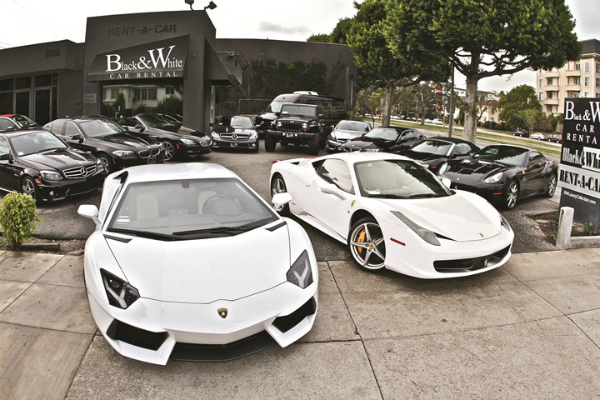 rent an exotic car