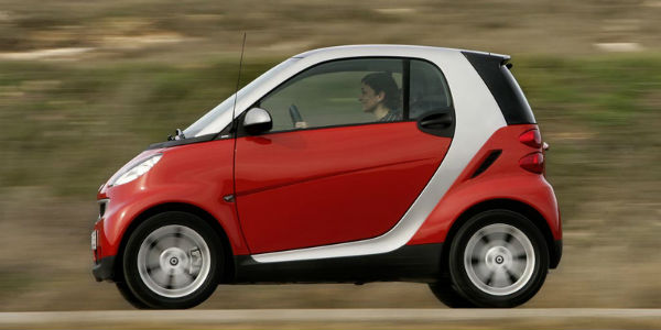 smart car gas mileage