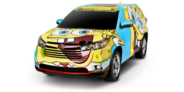 spongebob car games