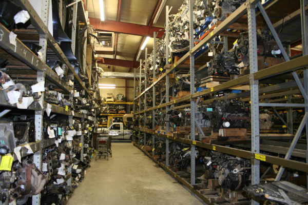 used car parts warehouse