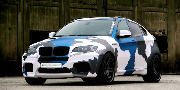 bmw x6 top performance military car