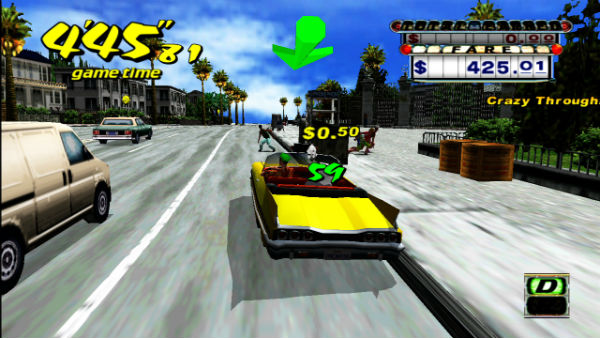crazy taxi on playstation 3 and xbox 360