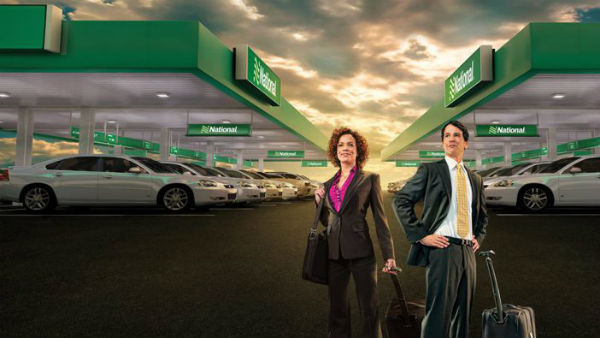 national car rentals increases efficiency for business